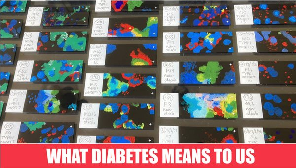 What diabetes mean to us exibition